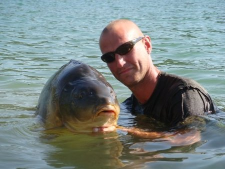 One of my many large Cassien carp I was fortunate enough to catch.