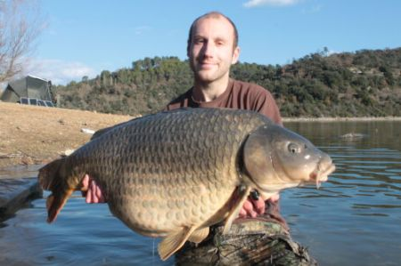 Matt Woods with a Cassien common.